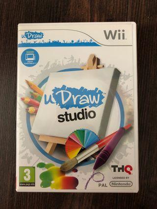 Juego uDraw studio WII + uDraw Game Tablet