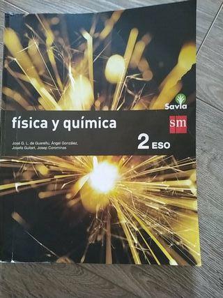 Libro escolar de Física y Química