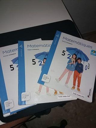 Libros de Matemáticas de 4 primaria