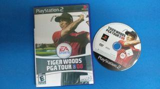 Ps2 - Tiger Woods PGA Tour 08
