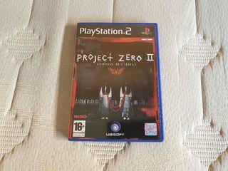 Project Zero II Crimson Butterfly PS2