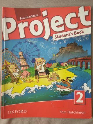 Libro texto Inglés 5° primaria. 15€