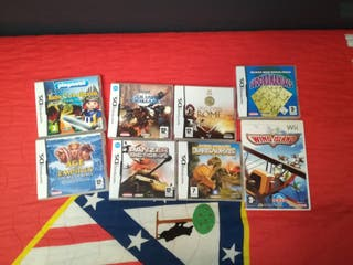 Juegos DS y Wii
