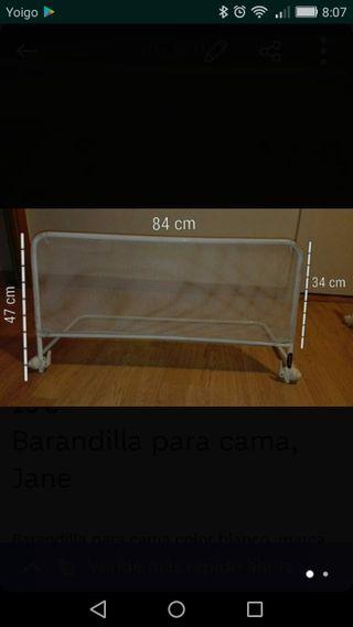 Barreras de cama anti-caidas