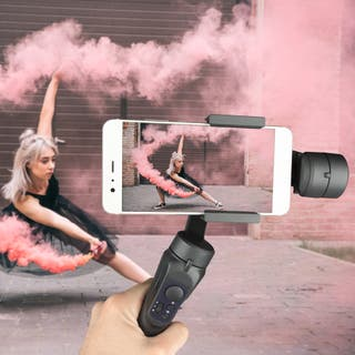 Estabilizador Video smartphone Gimbal foto grabar