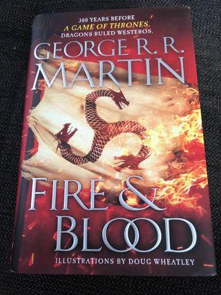 Libro sangre y fuego Juego de tronos