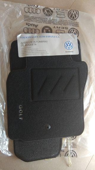 Juego alfombras Volkswagen Golf V originales