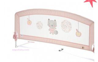 Barrera cama 150 cm happy way rosa