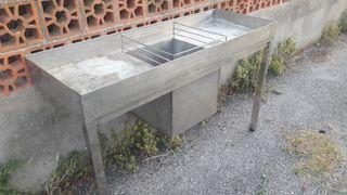 Fregadero industrial