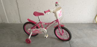 Bicicleta de niña en buen estado, de 5 a 8 años.