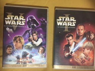 Star wars películas dvd