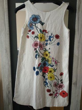 Vestido Zara Girls verano. T 11-12 (152cm)