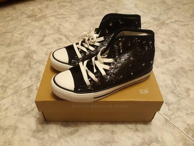Zapatillas de lona (estilo converse)