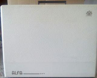 Maquina coser portátil, ELECTRÓNIC ALFA mod. 3940