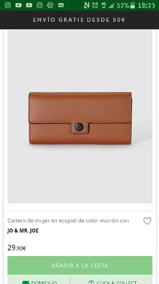 cartera original jo y mr joe