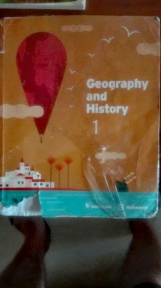 Libros de 4° primaria y 1° DE LA ESO Geog e Histor