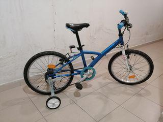 Bici para niño de 4 a 6 años aproximadamente