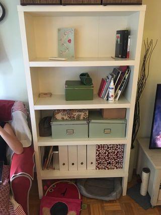 Estantería salón Ikea