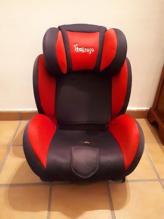 Silla de coche Ital Rojo
