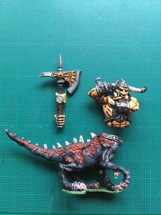 Ogro dragón del Caos para Warhammer