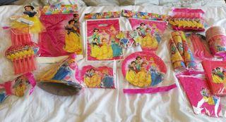 Lote princesas para celebraciones infantiles. NUEV