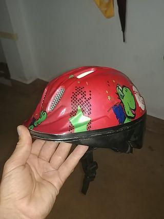 casco de bicicleta niño