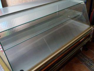 vitrina de bollería sin frio