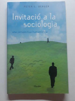 INVITACIÓ A LA SOCIOLOGÍA (Peter L. Berger)