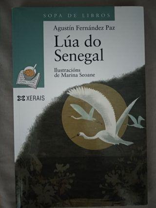 """Libro lectura galego """"Lúa do Senegal"""""""