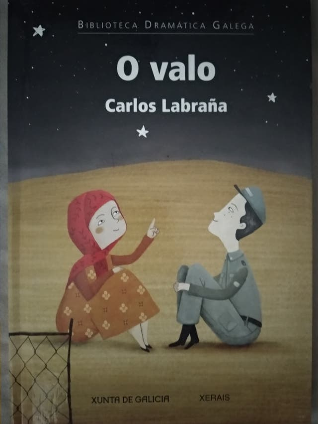 """Libro lectura galego """"O Valo"""""""