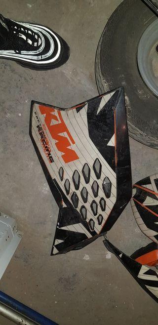 tapas + guardabarros KTM 450 enduro