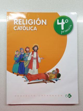 Libro religión católica 4° Primaria