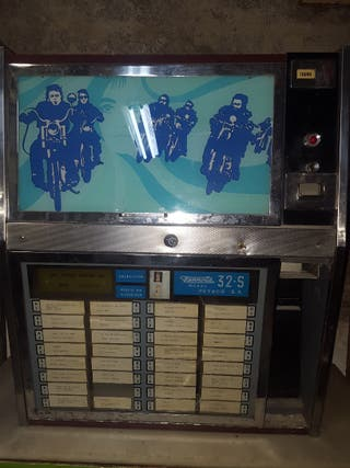 maquina discos antigua