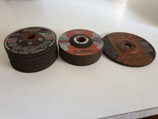 Discos de corte de amoladora pequeño. Metal