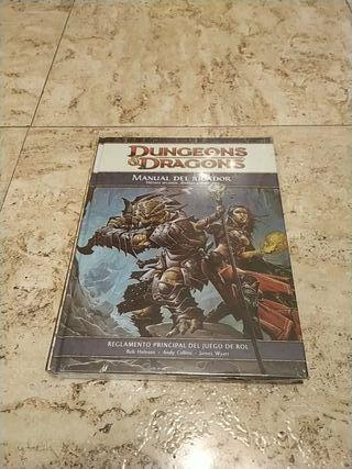 Manual del jugador D&D 4 edición