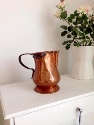 Jarron antiguo de cobre