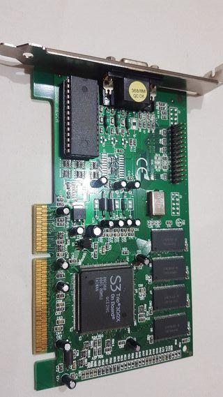 tarjeta gráfica S3 Trio 3D2X 8mb vga agp
