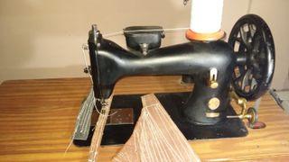 Maquina coser singer tapicero, zapatero