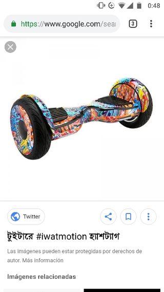 Hoverboard XL Iwatmotion con silla