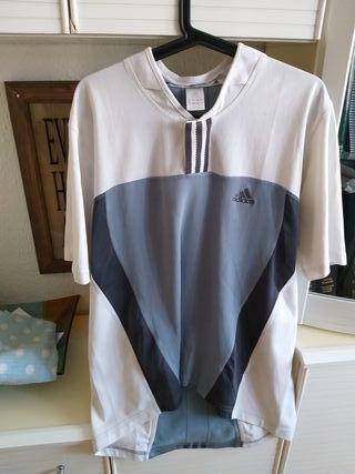 Camiseta Adidas manga corta hombre talla L