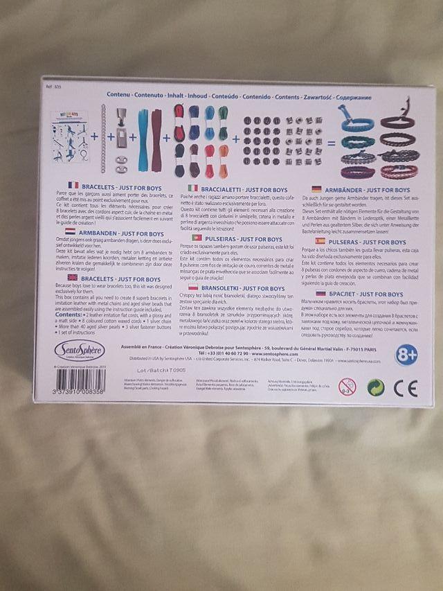 ae1a8722152c Kit creativo para hacer pulseras para niños de segunda mano por 15 ...