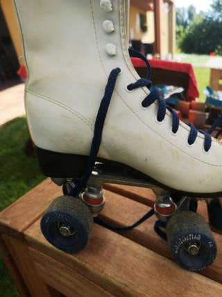 Patines antiguos California Roller Skate T 36
