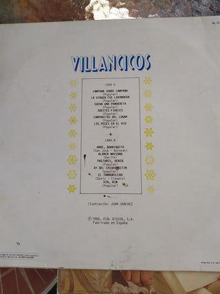 disco vinilo de villancicos y Chiquete