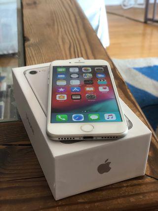 iPhone 7 256gb LIBRE color plata