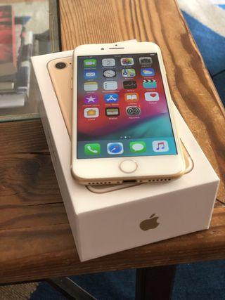 iPhone 7 256gb LIBRE color ORO