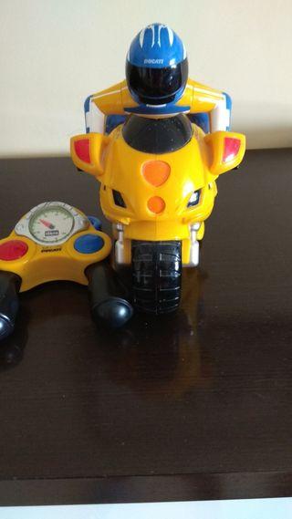Moto Ducati niño Chicco radio control