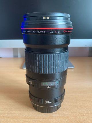 Objetivo Canon 200mm