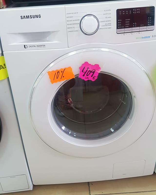 lavadoras samsung A+++ 8kg oferta