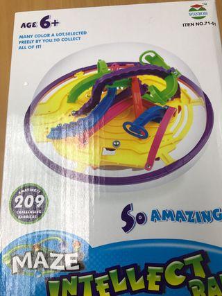 Maze intelligent ball laberinto 3d niño niña