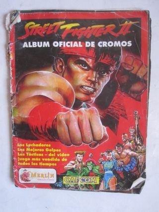 álbum de cromos Street Fighter II panini